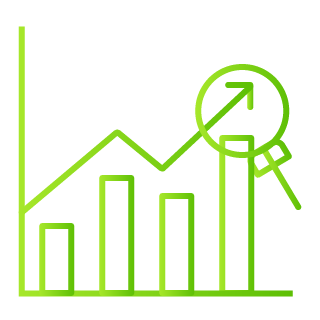 Sales Analytics and Reports Icon