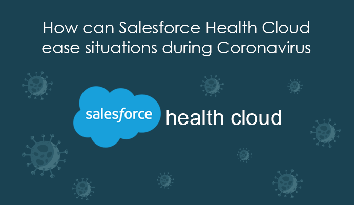 How can Salesforce Health Cloud ease situations during Coronavirus?