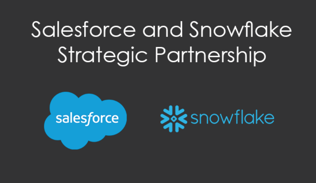 Salesforce and Snowflake Strategic Partnership