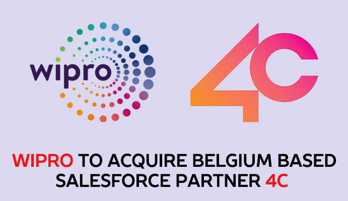 Wipro To Acquire Salesforce Partner 4C For 68 Million Euros