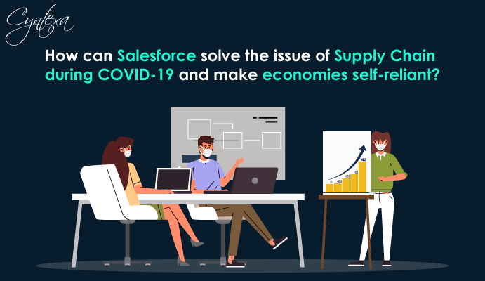How can Salesforce solve the issue of Supply Chain during COVID-19?