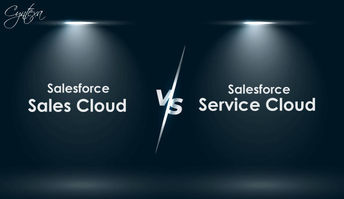 Salesforce Sales Cloud v/s Salesforce Service Cloud