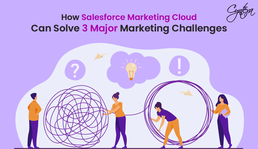 How Salesforce Marketing Cloud Can Solve 3 Major Marketing Challenges